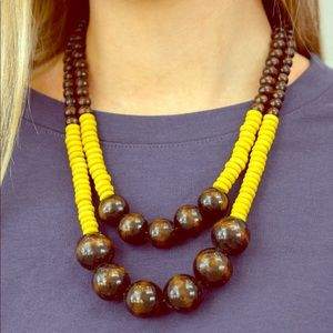 Jewelry - Cancun Cast Away - Yellow | Necklace